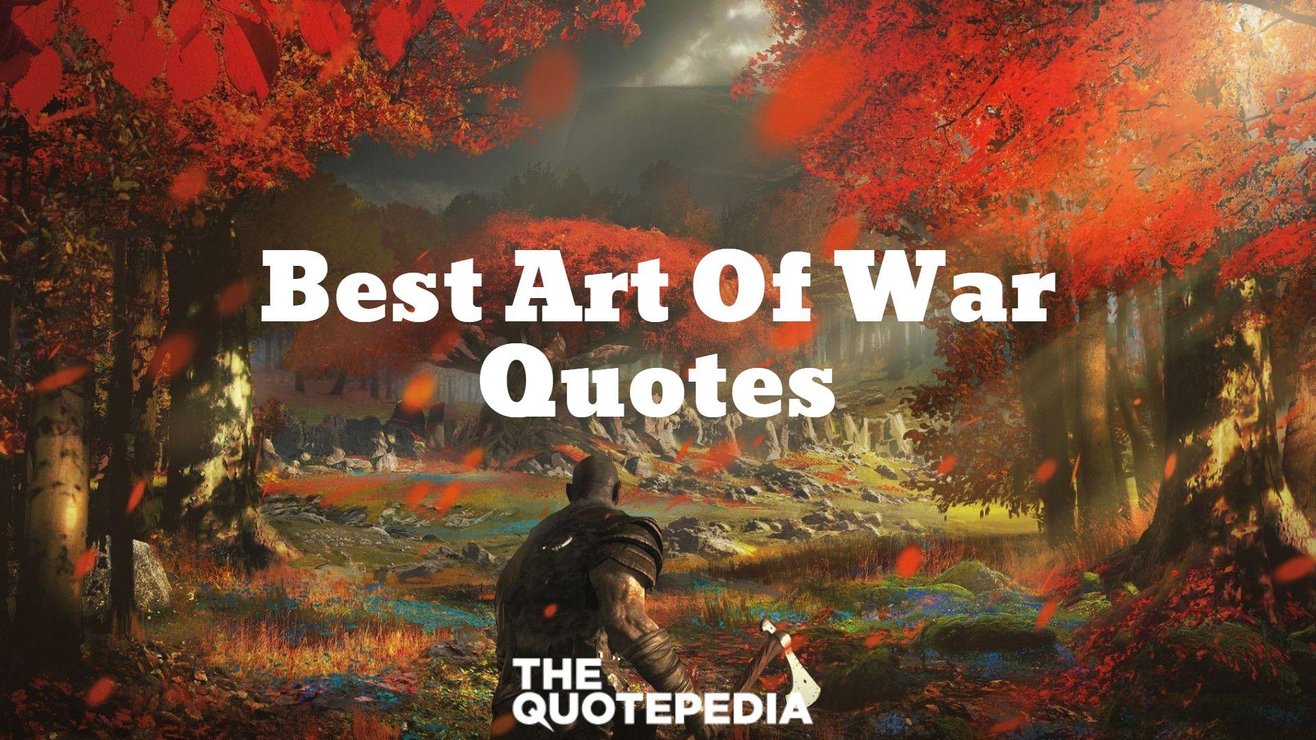 Best Art Of War Quotes