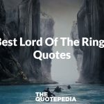 Best Lord Of The Rings Quotes