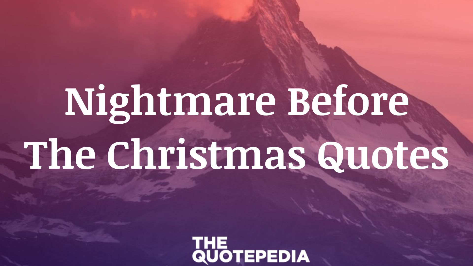 Nightmare Before The Christmas Quotes