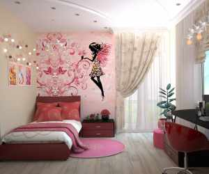 Wall Painting Design for Bedroom