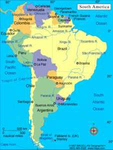 What Are the 7 Continents and Their Countries in the World