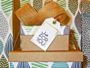 Customized gift box